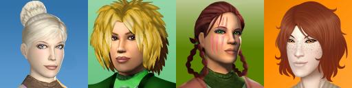 K2 - EXILES - Mar Ky Bak Raene in-game portraits by MaskedSugarGirl