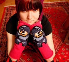 Megaman Gloves by rsmursu