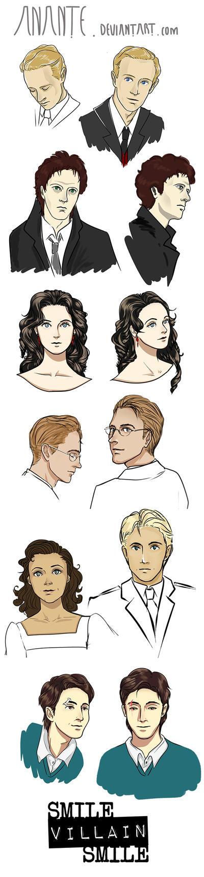Character Busts by Anante