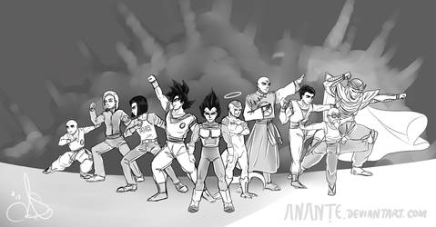 DBS - Universe 7 WIP test #2 by Anante