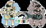 (closed) zodiac proto auction- libra and capricorn