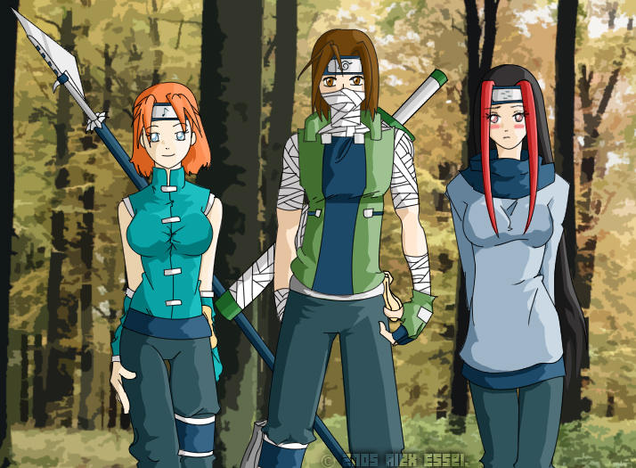 Ninja Team by Thefirmt