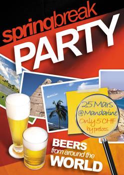 SpringBreak Party Flyer V2