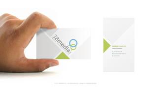 38media business card by jonaska