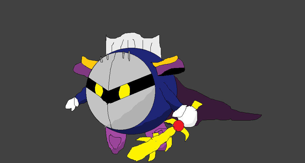 Meta Knight by RichardtheDarkBoy29