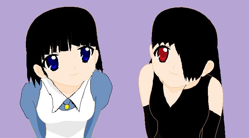Aya and Rachel, the cutest friends ever by RichardtheDarkBoy29