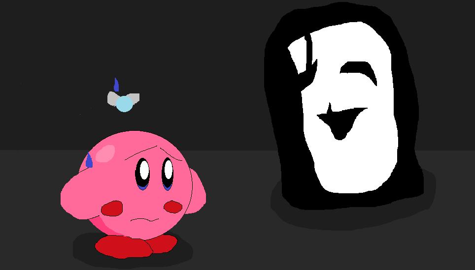 Kirby and Uboa by RichardtheDarkBoy29