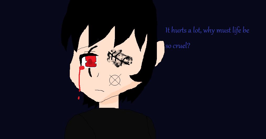 It hurts by RichardtheDarkBoy29
