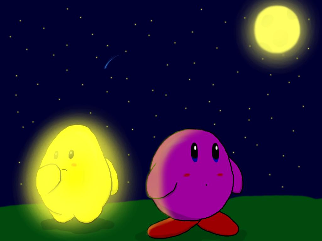 Kirby and Starfy by RichardtheDarkBoy29