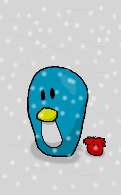 Club Penguin chibi by RichardtheDarkBoy29