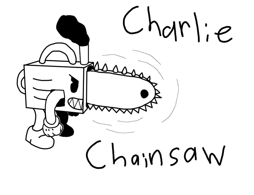 Charlie Chainsaw (updated) by RichardtheDarkBoy29