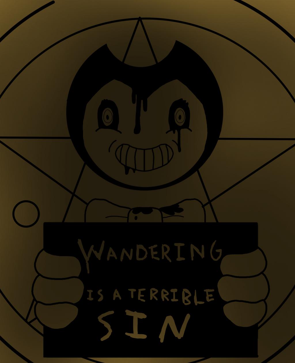 Wandering is a terrible sin by RichardtheDarkBoy29