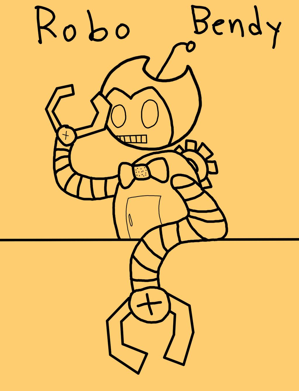 Robot Bendy by RichardtheDarkBoy29