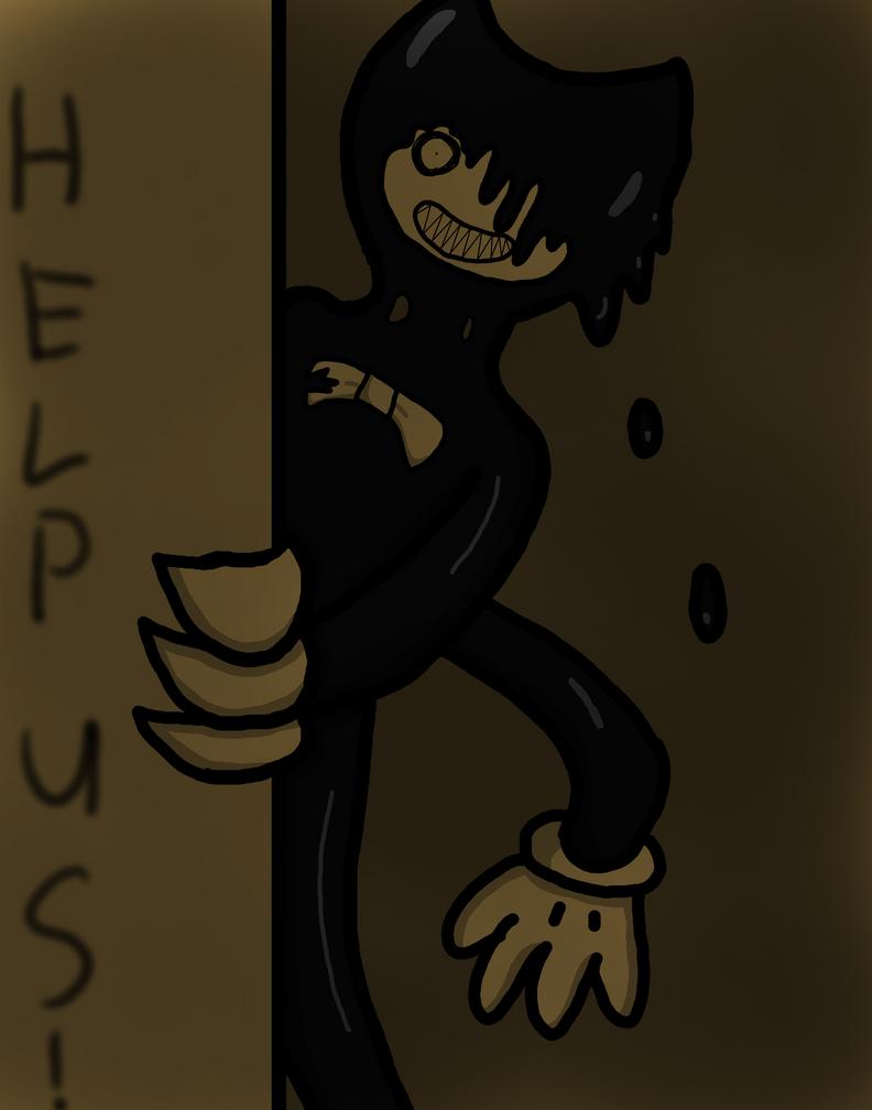 Nightmare Bendy by RichardtheDarkBoy29