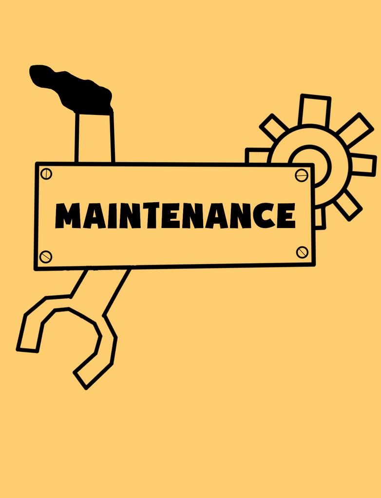 Maintenance sign (Contest Entry) by RichardtheDarkBoy29