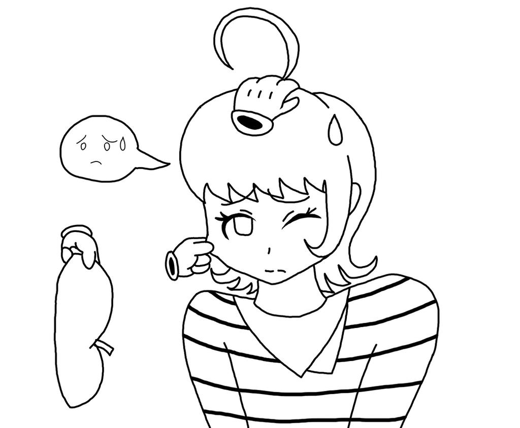 Quick Doodle (Playing with Miyuki) by RichardtheDarkBoy29