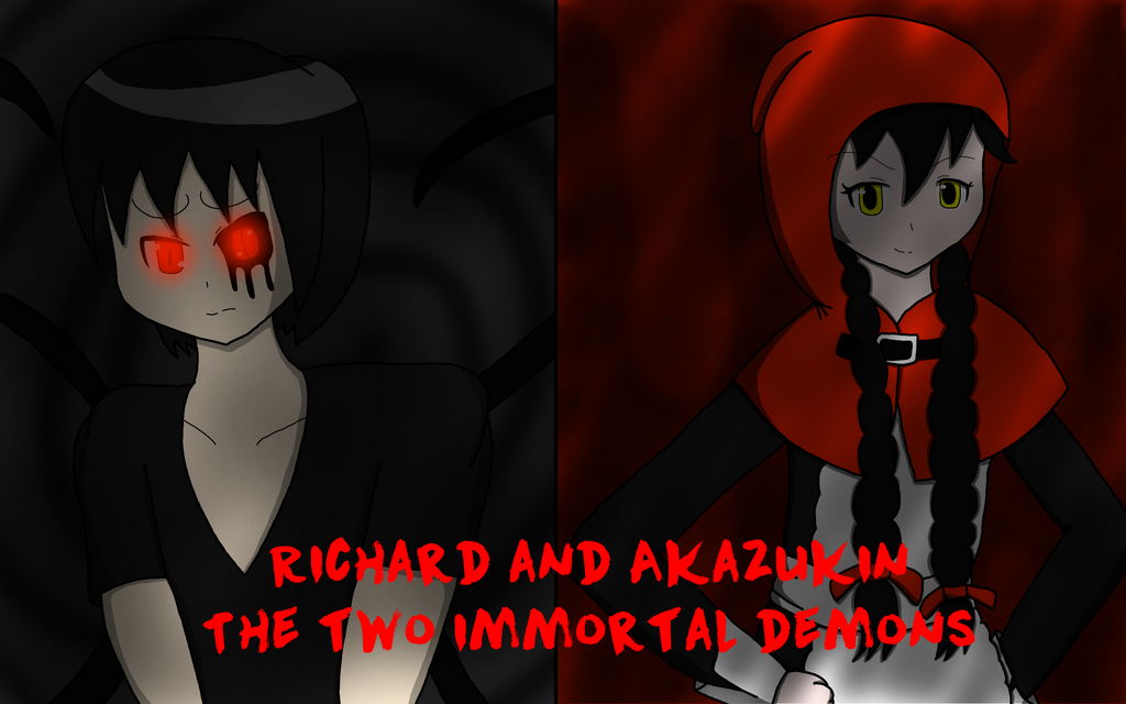 Two immortal demons by RichardtheDarkBoy29