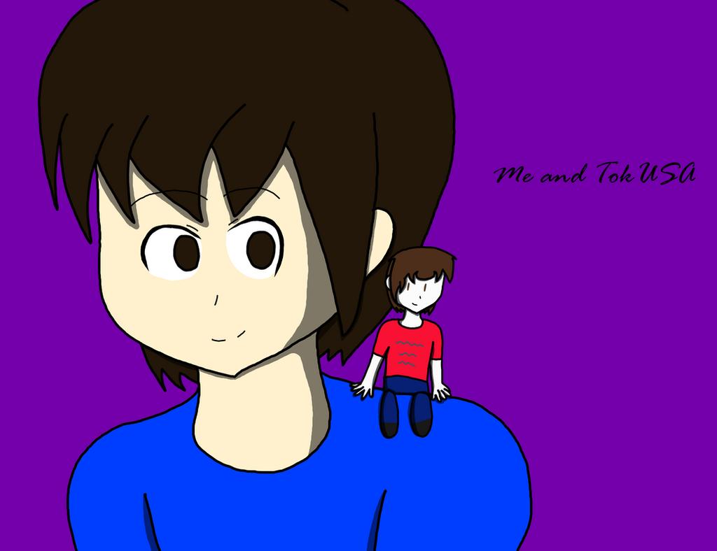 Me and TokUSA by RichardtheDarkBoy29
