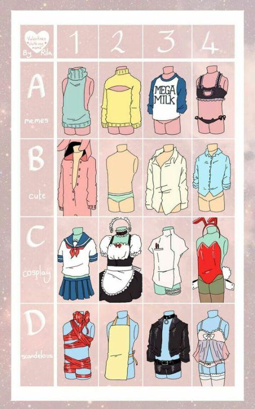 Clothing Challenge by RichardtheDarkBoy29