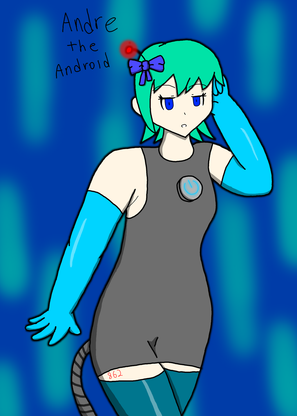 Andre the Android by RichardtheDarkBoy29