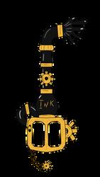 The Ink Machine (Keyblade) by RichardtheDarkBoy29
