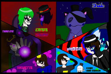 The many personas of me by RichardtheDarkBoy29