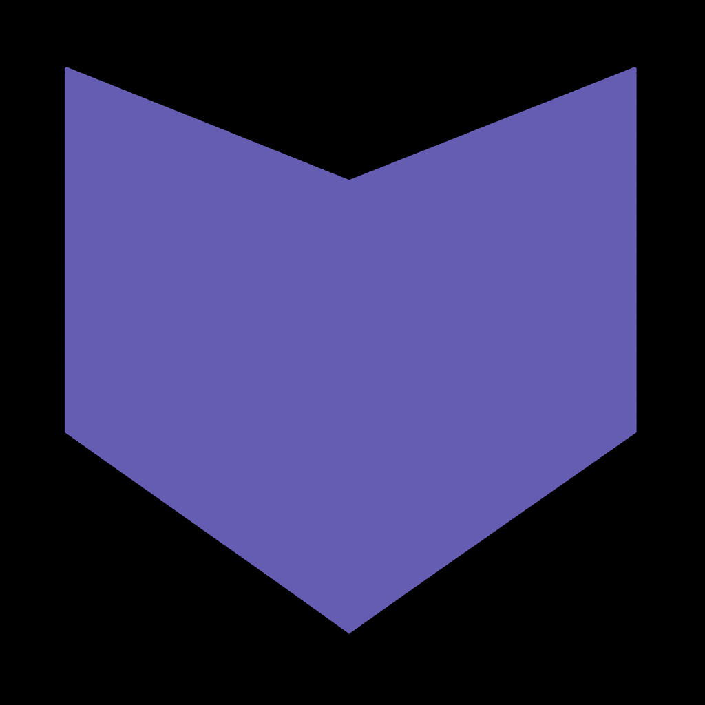 Hawkeye Minimalist Logo by QuestGFX247 on DeviantArt