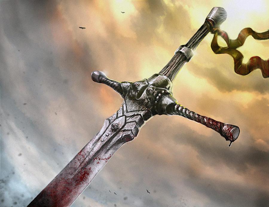 Pour la reine. Sword_by_sarafiel-d5g7v0q