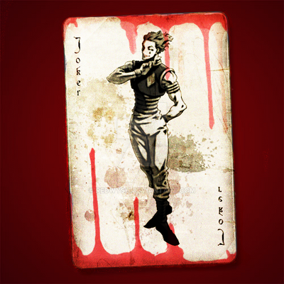 Hisoka Joker Card By Redwysh