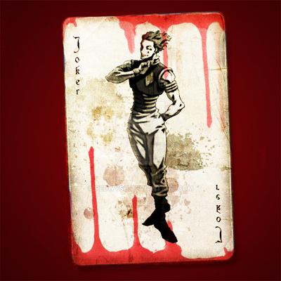 Hisoka Joker Card By Redwysh