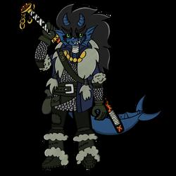 Indra Aqualarious the Triton by EmperorPsycho