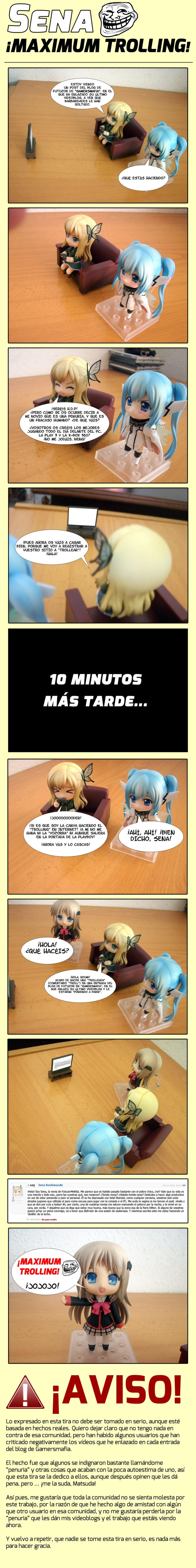 Sena ¡MAXIMUM TROLLING!
