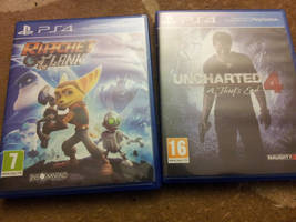Two games from PS4