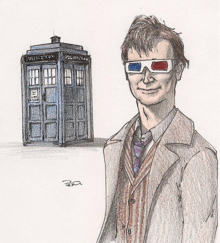 Dr. Who by RobtheDoodler