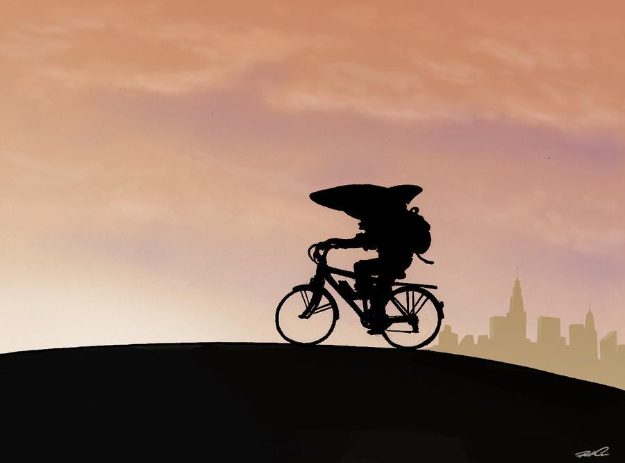 Land Shark Cycling Commute By Robthedoodler On Deviantart