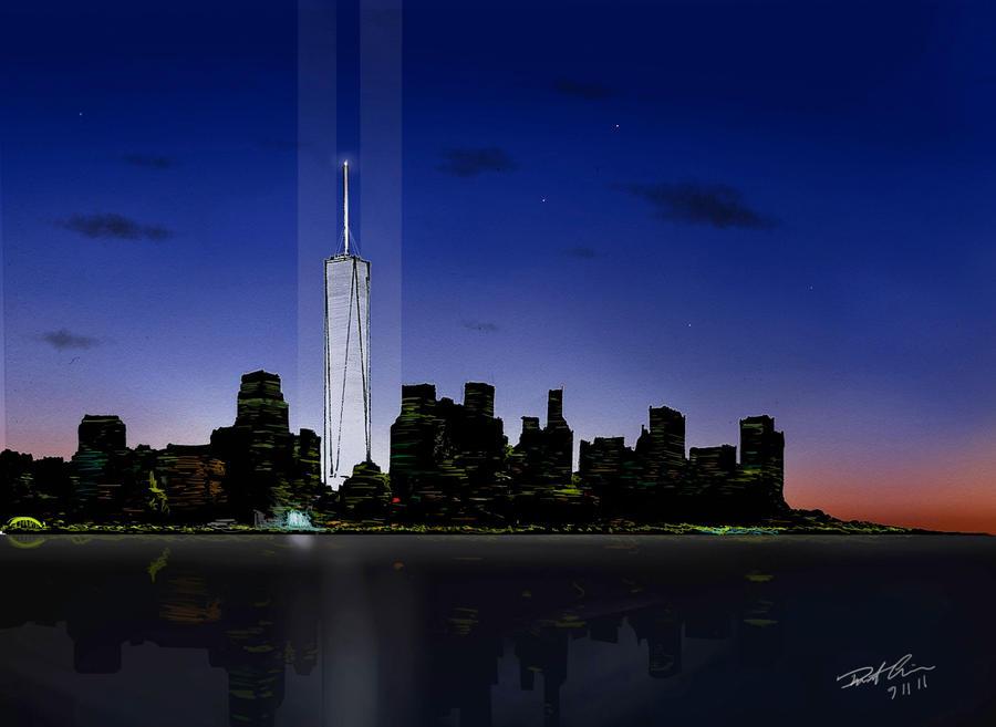 September 11 Tribute by RobtheDoodler on DeviantArt