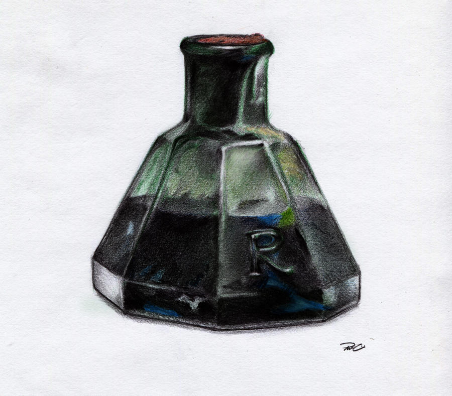 Ink bottle by RobtheDoodler on DeviantArt