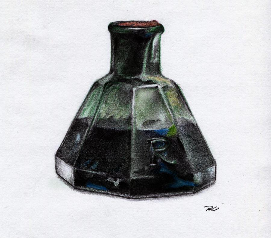 Ink bottle by RobtheDoodler on DeviantArt