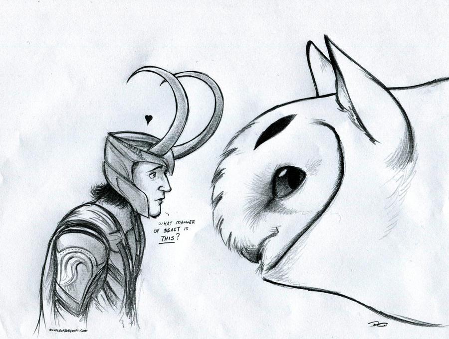 Cat Ears Doodle