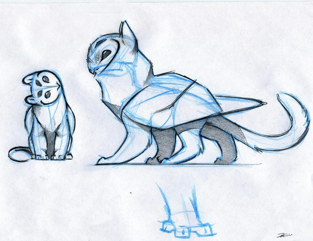 owl griffin design by robthedoodler on deviantart