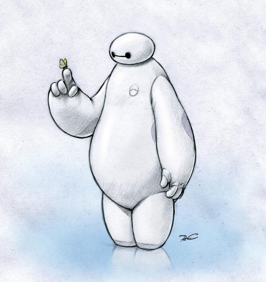 Baymax by RobtheDoodler