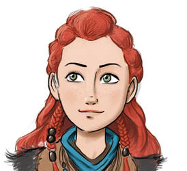 Aloy avatar by RobtheDoodler