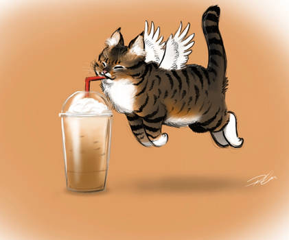Caffeine Cat Iced Coffee