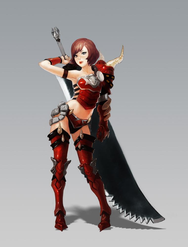 Origianl Game Character by totoro888