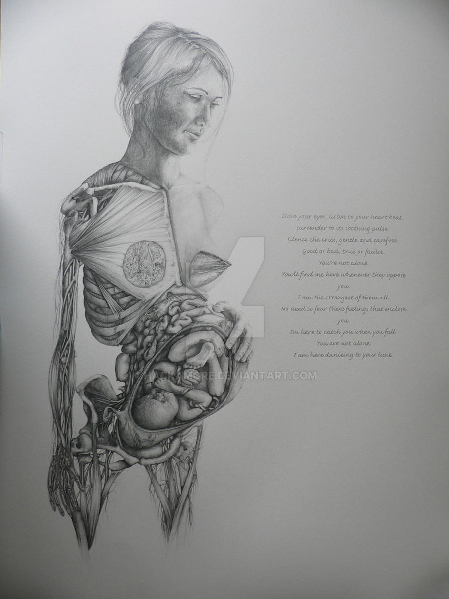 Anatomy of pregnant woman by hackamore on DeviantArt