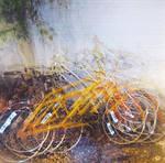 Yellow Bicycle by blessedwildapplegirl