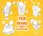 OPEN (SET PRICE) YCH DRINKS COMMISSION