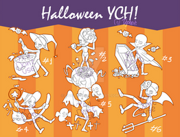 [OPEN SET PRICE] Halloween YCH! by Dgslash