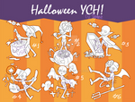 [OPEN SET PRICE] Halloween YCH! by Dgslash