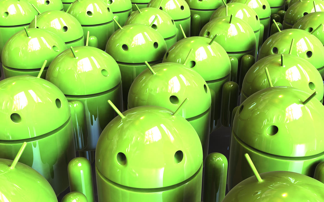 3d android wallpaper crowd by happybluefrog on deviantart for Fondos 3d android